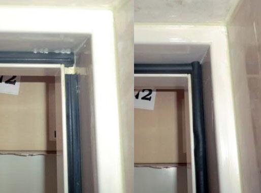 名古屋市中川区 マンション ドアのエアタイトゴム取替