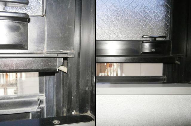 名古屋市南区 上下窓部品修理、交換