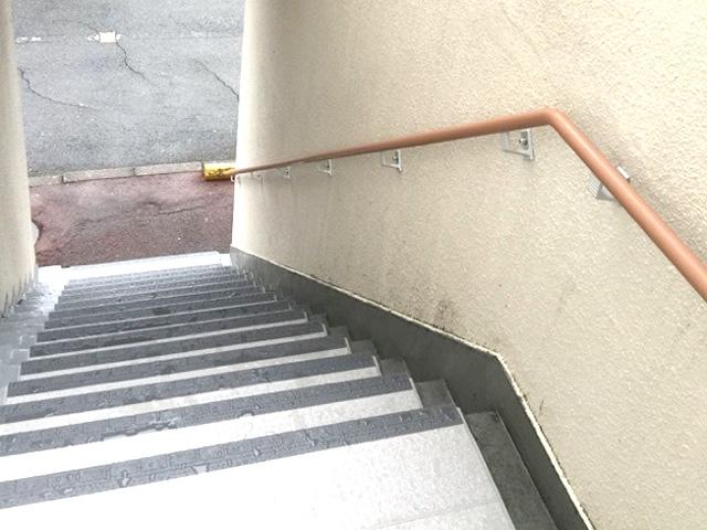 マンション共用部 手摺設置 名古屋市南区