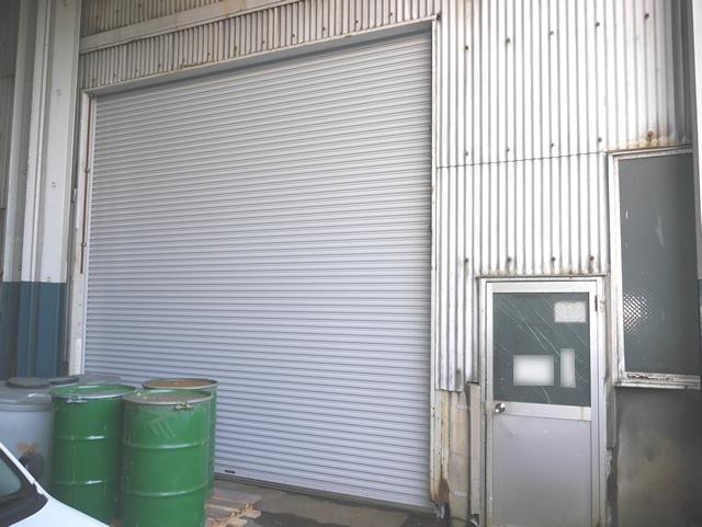 工場の電動シャッター取替 名古屋市港区