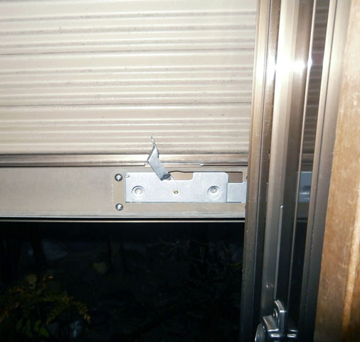 名古屋市港区 雨戸シャッターの修理、交換