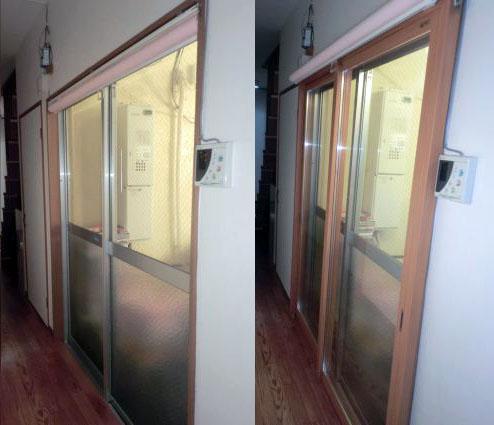 名古屋市港区 防犯対策 内窓インプラス工事