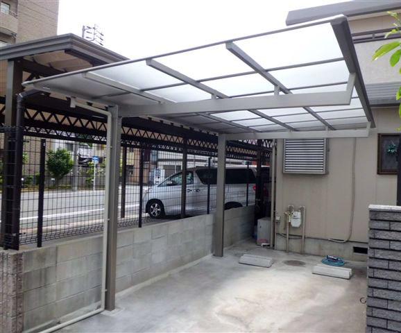名古屋市東区 カーポート取替