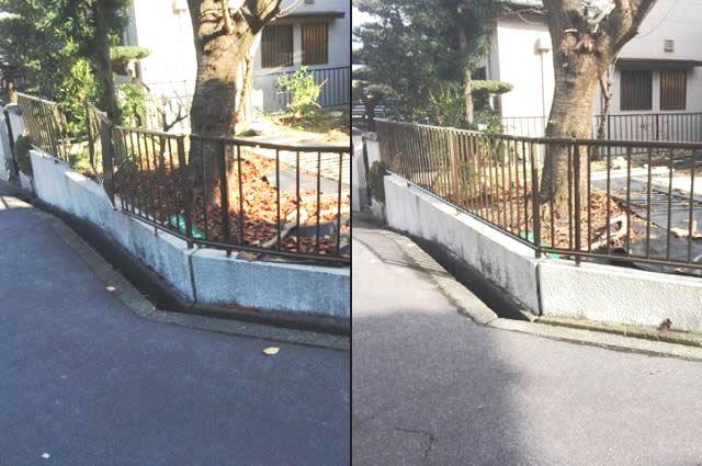 フェンス補修工事 三協立 ニュー速川1型 名古屋市緑区