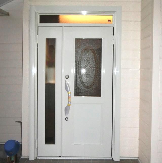 玄関ドア リフォーム 防犯対策 LIXILリシェント 津島市