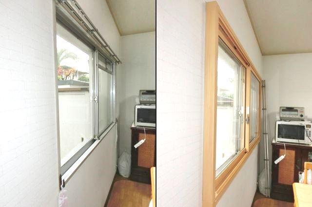 窓の結露対策 防寒対策 LIXIL内窓インプラス 名古屋市千種区