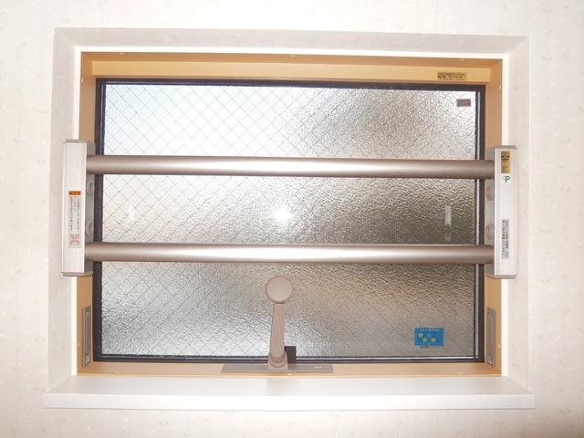 窓の防犯対策 LIXIL室内面格子 事例2 名古屋市緑区