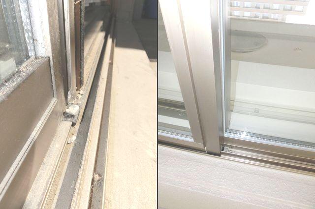 掃出し窓 修理 交換 名古屋市千種区