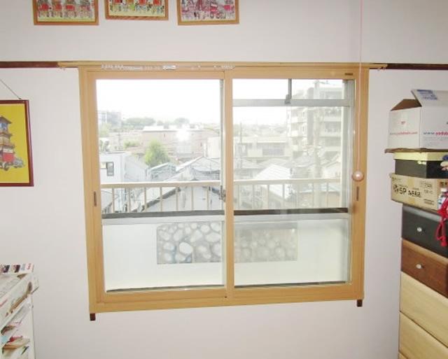 名古屋市緑区 内窓「インプラス」硝子「Low-E複層ガラス グリーン」取付工事