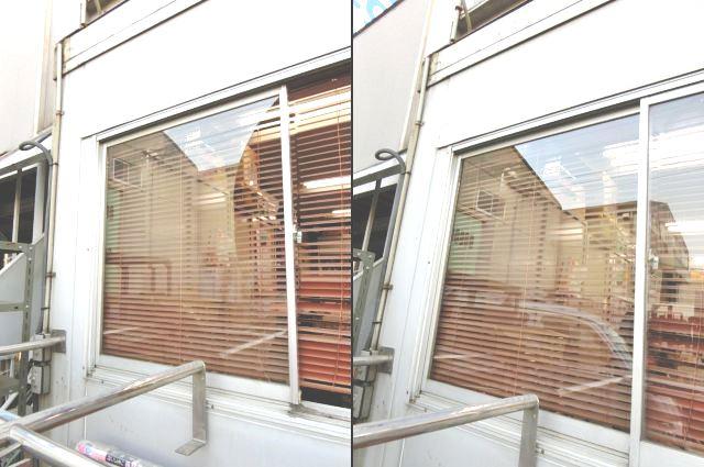 事務所 窓ガラス修理 交換 名古屋市南区