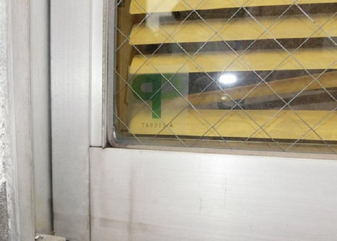 窓の防犯対策 3M防犯フィルム 名古屋市中川区