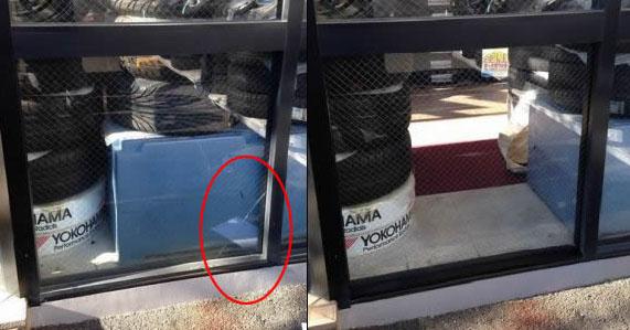 桑名市 店舗 フロンドガラス集修理